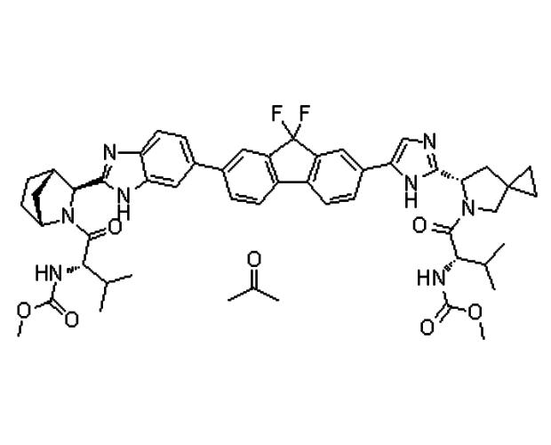 Ledipasvir(雷迪帕维单丙酮溶剂化物)1441674-54-9